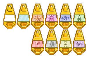 Digimon Season 1 Tags Sprites by Forlork
