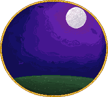 Moon in Frame by Forlork