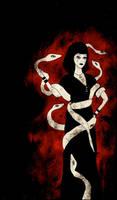 Snake Woman by AllieHartley