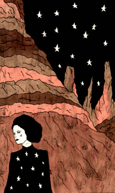 Cold Desert Stars by AllieHartley