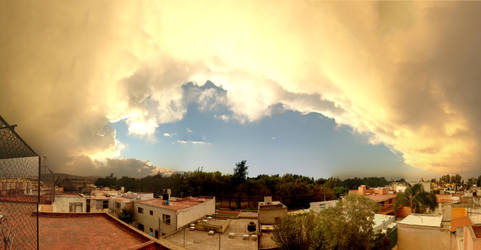 Rooftop Panoramic by zerreitug