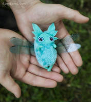 Spring flying sleepyhead by Furrykami-creatures
