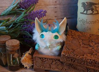 Casket spirit art toy by Furrykami-creatures