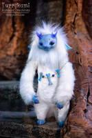 Yeti spirit by Furrykami-creatures