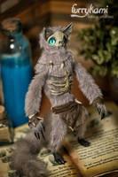 Wendigo Shaman by Furrykami-creatures
