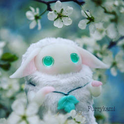 Albino toy by Furrykami-creatures