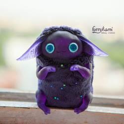 galaxy catcher art toy by Furrykami-creatures