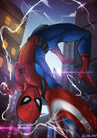 Spiderman Fan Art Civil War ver. by alanasdasd