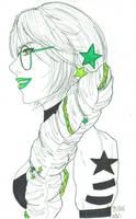 Galacticbent Jade Harley by pocketcheese