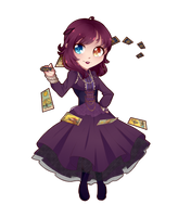 :chibi commission: Yuri by iselART