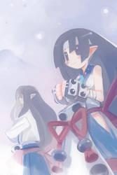 Yukimaru and Fubuki by Henge-maru