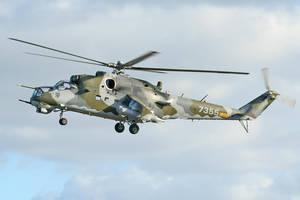 Czech Airforce Hind E at Wattisham. by gary1701