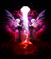 Descendant Angels by Tyger-graphics