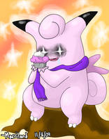 Cupcake Clefable by Marriland