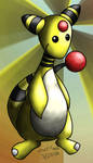 Better Ampharos by Marriland