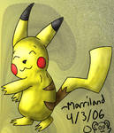 Happy Dancing Pikachu by Marriland