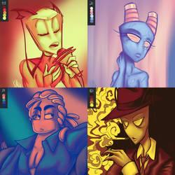 Color Palette Challenge! :D by CuddlesAndHuggles