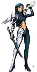 Sword and Gun by EelGod
