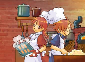 Baking by EelGod