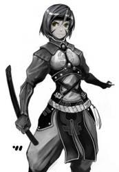 Chinese Ninja by EelGod