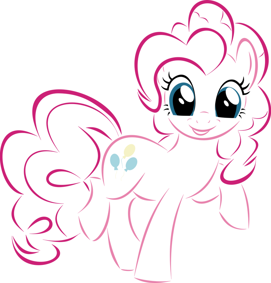 Pinkie Pie by UP1TER