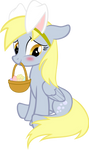 Derpy - Easter Bunny by UP1TER
