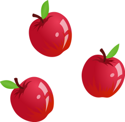 Applejack cutie mark by UP1TER