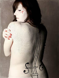The White Violin III by caitlin-soulia