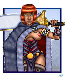 Warrior by bonejesta