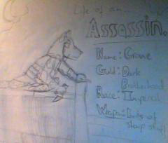 Crowe (The Assassin) by MaverickHavoc
