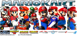 Mario Kart into History by StarRion20