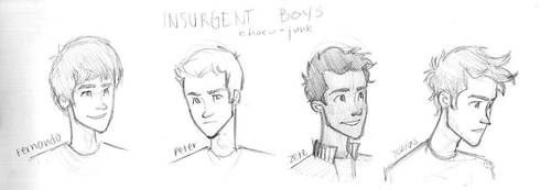 Insurgent Boys by choco-junk