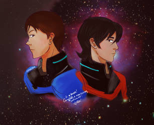 Lance and Keith [Dark] by Elisuccia91
