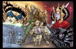 Star Wars: Phantom Menace by BlondTheColorist