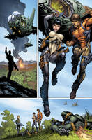 Hunter Killer 6 p7 by BlondTheColorist
