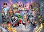 Cyber Force-Hunter Killer 2 by BlondTheColorist