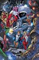 Adventure Comics 518 p1 by BlondTheColorist