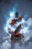 Red Hood 20 cover by BlondTheColorist