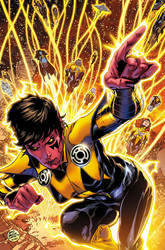 SINESTRO 22 Cover by BlondTheColorist