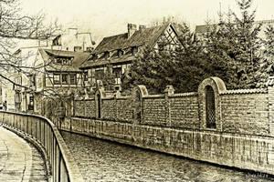 Gdansk black - white 7 by wiwaldi24