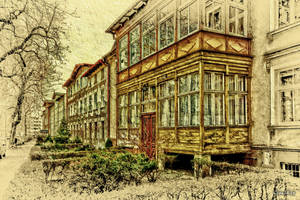 In the footsteps of old Gdansk townhouses 26 by wiwaldi24