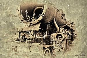 Old locomotive 2 by wiwaldi24