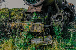 Cemetery locomotive by wiwaldi24