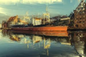 Ship Soldek by wiwaldi24