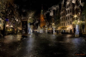 Gdansk by night 3 by wiwaldi24