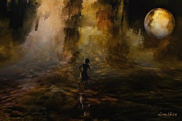 Run away, but where ... by wiwaldi24