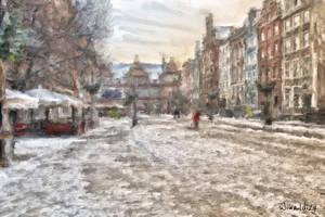 The Long Lane in Gdansk 4 by wiwaldi24