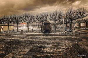 Entrance to the pier in Sopot by wiwaldi24