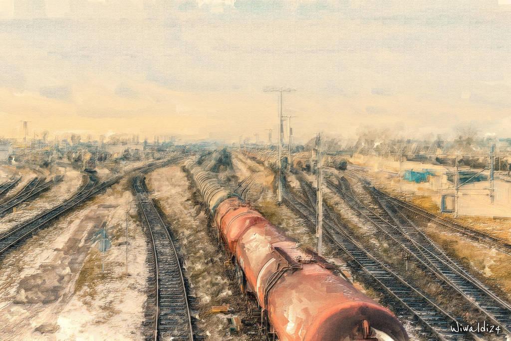The trains by wiwaldi24