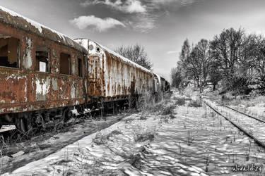 Ghost train by wiwaldi24